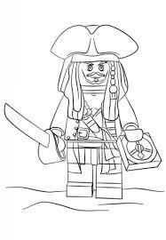 Lego Jack Sparrow Kleurplaat Gratis Kleurplaten Printen