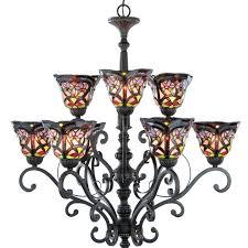 portfolio 6 light new century black chandelier canada kichler