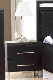 nightstands bedside tables life line phantom white black xiorex night for bedroom drawer table narrow cabinet