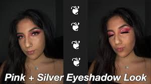 Pink + Silver Eyeshadow Look   Ashley Barajas - YouTube
