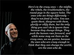 Quotes About Changing The World Classy Steve Jobs Quotes Change World Quotes
