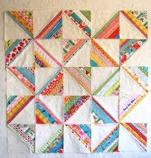 All wrapped up: WIP - Scrappy Triangles   Quilt Projects ... & Scrappy Strings Quilt blocks Adamdwight.com