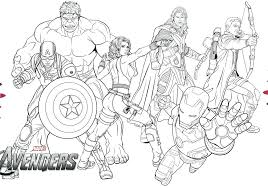 Avengers Coloring Pages Pdf Free Online Colouring Minimalist New A