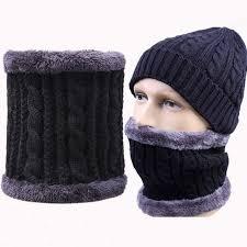 Online Shop Men Winter Warm knitted mink Neck Scarf Women ...