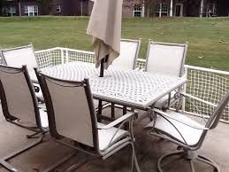 outdoor sling chairs. Deck Sling Furniture With Montego Outdoor Fabric Chairs