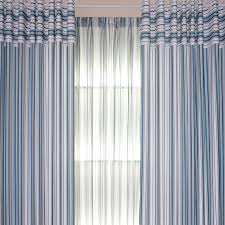 ... Nautical Striped Beautiful Living Room or Bedroom Curtains. Loading zoom
