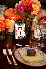 spanish tile table numbers love