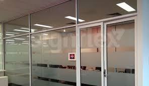 window frosting office