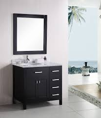 london (decd) single sink vanity set  bathroom vanities