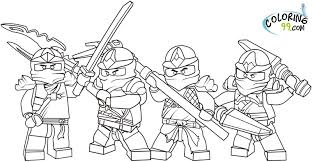 Ninjago Coloring Pages Freehtml Template Design