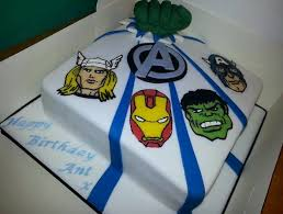 The Avengers Birthday Cake Ideas