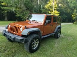 beautiful jeep wrangler unlimited sport door orange wd manual gasoline suv with lifted 4 door jeep orange