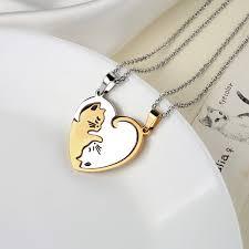 personality yin yang pendant necklace