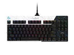 Bàn phím chơi game cơ học PRO K/DA của Logitech G với các phím switch  Tactile