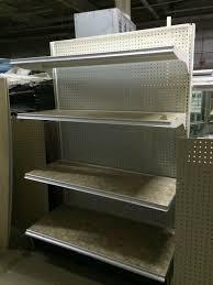 gondola shelving wall units metal shelves used fixtures grocery shelving