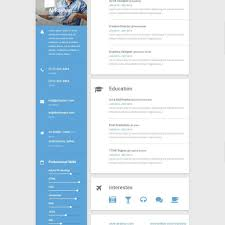 Awesome Collection Of Sample Online Resume Website Resume Template
