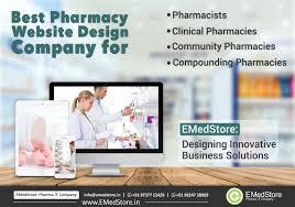 pharmacy design company best pharmacy website design company emedstore