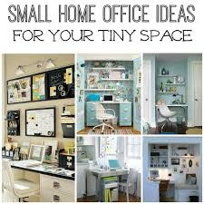 Small Picture Five Small Home Office Ideas