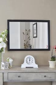 modern contempory wall mirror 2ft8