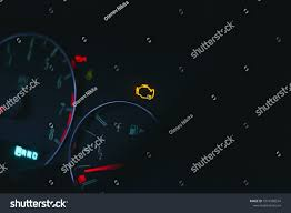 Why Is Engine Light On In Car Car Dashboard Check Engine Light On Stock Photo Edit Now