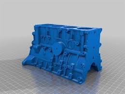 Toyota 4 Cylinder Engine 22RE 3d printed model | Home Model Engine ...