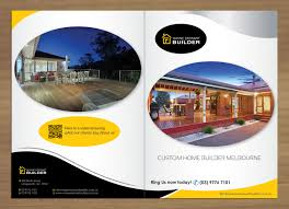 Elegant Serious Building Brochure Design For A Company By
