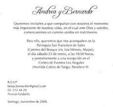 formato de invitaciones de boda frases de invitaciones de boda texto para invitaciones imagui