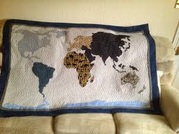 World Map Quilt Quilts Maps Pinterest With - grahamdennis.me & World Map Quilt Quilts Maps Pinterest And Adamdwight.com