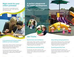 Pre School Brochure Template
