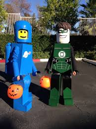 homemade lego costumes