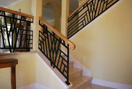 interior home color design. Charming Custom Iron Stair Railing With Wood Handrails And Interior Paint Color Also Baseboard Home Design O