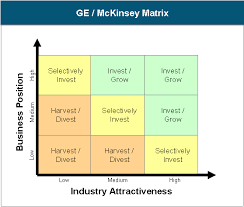 Strategic Planning Framework Strategic Planning With Ge Mckinsey Matrix
