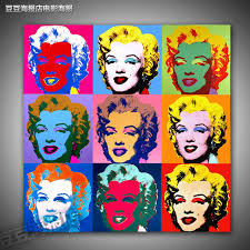marilyn monroe a6471 rq decorative andy warhol painting