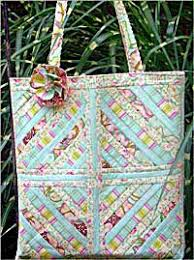Squared Away Quilted Tote Pattern   Sewing and patterns ... & Squared Away Quilted Tote Pattern Adamdwight.com