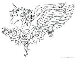 unicorn color page printable unicorn coloring pages coloring flying unicorn printable coloring pages flying unicorn color