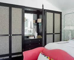 fabric paneled closet doors