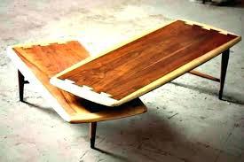 lane coffee table mid century modern lane acclaim swivel boomerang coffee table lane round walnut coffee
