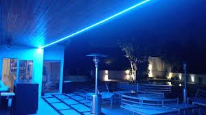 Outside Patio Lights Led Exterior Led Strip Lights Patio Lighting Patio Railing