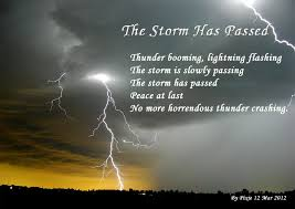 Remembering Friend Passed Away Quotes New The Storm Has Passed Nature Poems