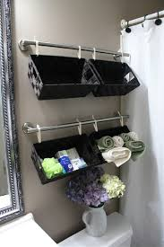 diy bathroom wall storage. Perfect Bathroom A Wall Full Of Baskets  30 Brilliant Bathroom Organization In Diy Storage Z