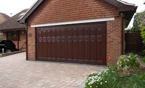 dark brown garage doorsGallery of Sectional Garage Doors  Anglian Home