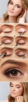 fresh chagne smoky makeup tutorial