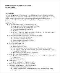 Physician Job Description Doctor Job Duties Custodian Job ...