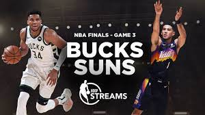 Can Giannis bring a win home to Milwaukee? Bucks vs. Suns | NBA Finals Game  3 preview