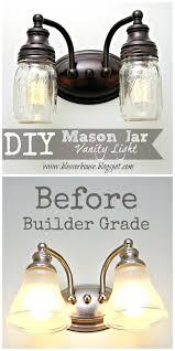 diy mason jar hanging lights mason jar lights mason jar vanity light ideas with mason jars diy mason jar hanging
