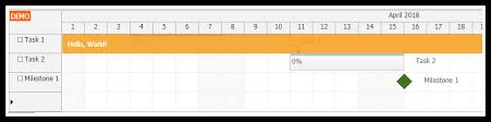 Vue Js Gantt Chart Tutorial Daypilot Code