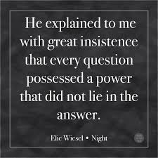 Night Elie Wiesel Quotes