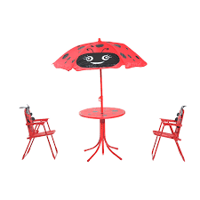 Easy Store™ Picnic Table With Umbrella  BlueGreen  Play TableChildrens Outdoor Furniture With Umbrella
