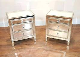 gold nightstands