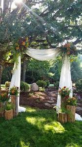 A Marsala U0026 Gold Backyard Fall Wedding  Every Last DetailBackyard Fall Wedding